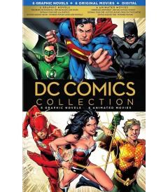 DC COMICS (COLECCIÓN 6 NOVELAS GRÁFICAS Y 6 PELÍCULAS ANIMADAS)