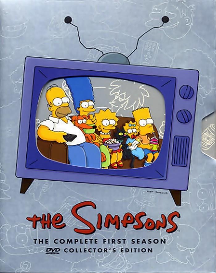 DVD - LOS SIMPSONS 1° TEMPORADA