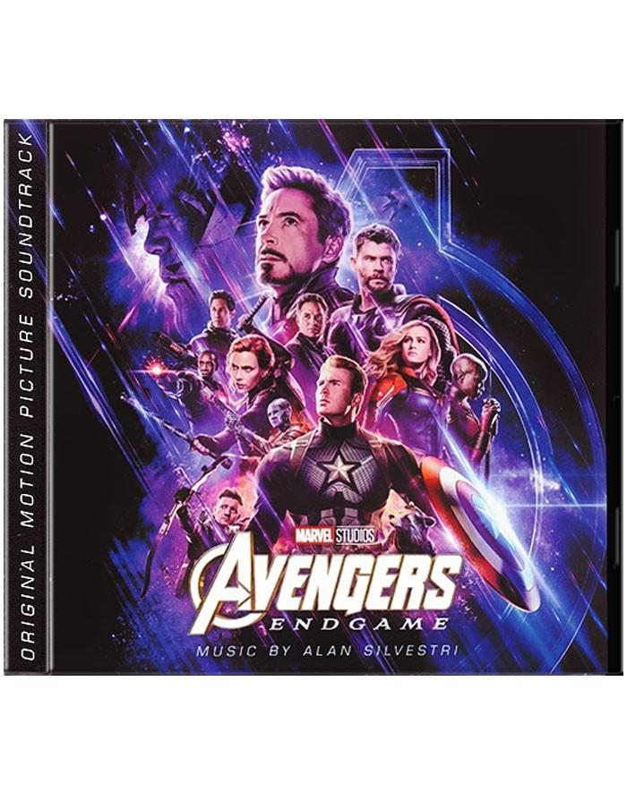 CD - LOS VENGADORES (ENDGAME) (ORIGINAL MOTION PICTURE SOUNDTRACK)