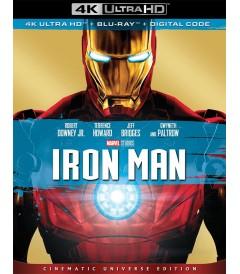 4K UHD - IRON MAN (EDICIÓN UNIVERSO CINEMATOGRÁFICO) (MCU) - PRE VENTA