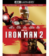 4K UHD - IRON MAN 2 (EDICIÓN UNIVERSO CINEMATOGRÁFICO) (MCU) - PRE VENTA