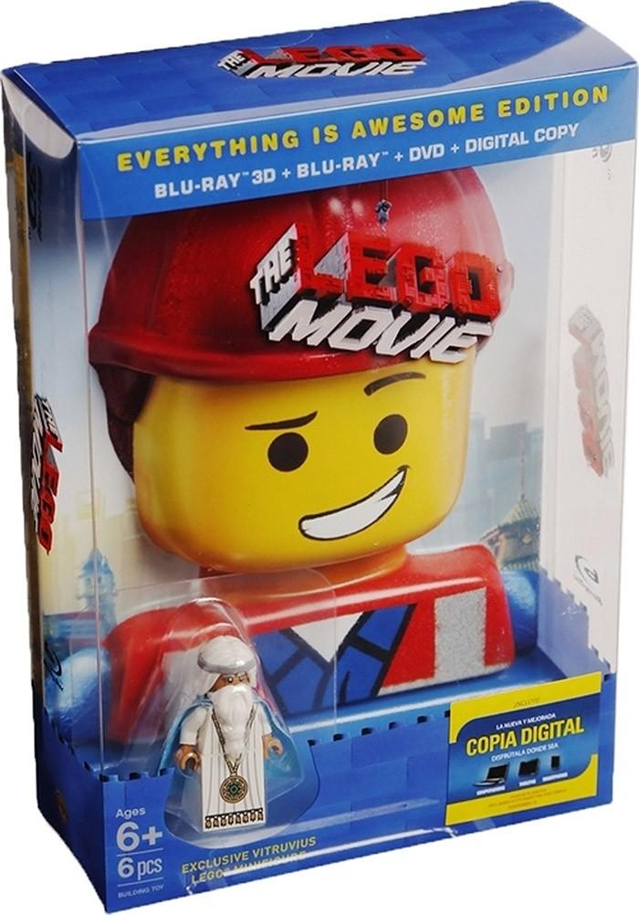 3D - LEGO LA PELÍCULA (EDICIÓN TODO ES ASOMBROSO) (*)