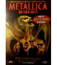 DVD - METALLICA (SOME KIND OF MONSTER) - USADA