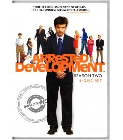 DVD - ARRESTED DEVELOPMENT (SACRIFICIOS DE FAMILIA) (2° TEMPORADA COMPLETA)