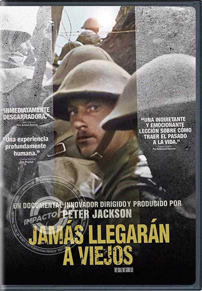 DVD - JAMÁS LLEGARÁN A VIEJOS