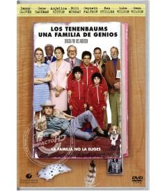 DVD - LOS EXCÉNTRICOS TENENBAUMS