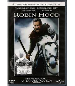 DVD - ROBIN HOOD (CORTE DEL DIRECTOR) (EDICIÓN ESPECIAL 2 DISCOS) - USADA