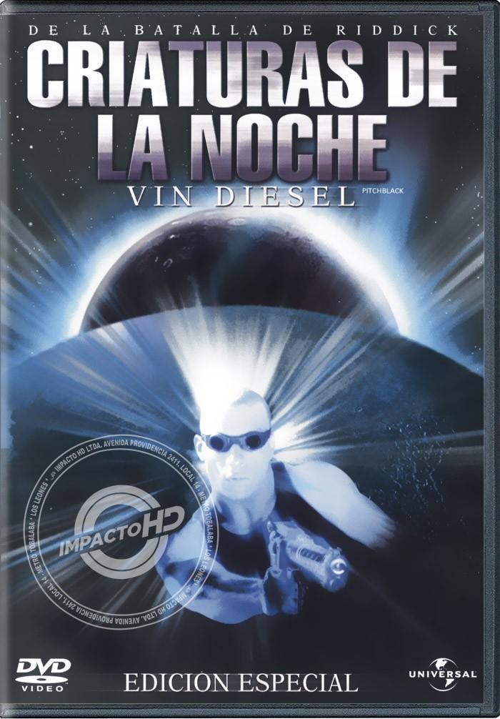 DVD - LA BATALLA DE RIDDICK (CRIATURAS DE LA NOCHE) - USADA