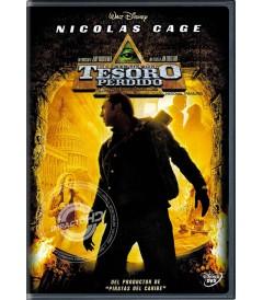 DVD - LA LEYENDA DEL TESORO PERDIDO - USADA