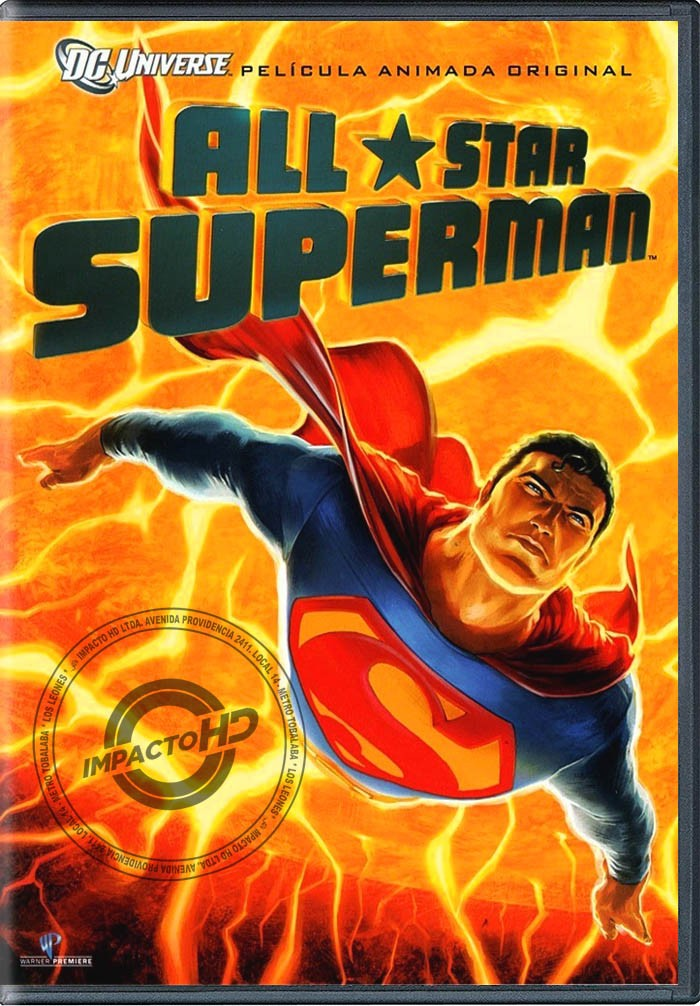 DVD - ALL STAR SUPERMAN - USADA