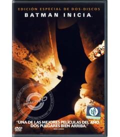 DVD - BATMAN INICIA (EDICIÓN ESPECIAL) - USADA