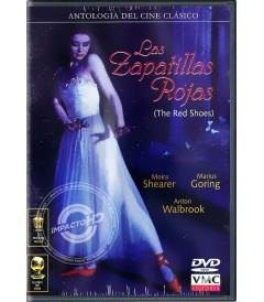 DVD - LAS ZAPATILLAS ROJAS