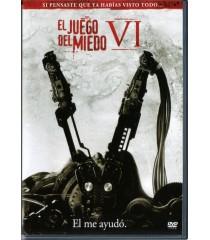 DVD - EL JUEGO DEL MIEDO VI - USADA
