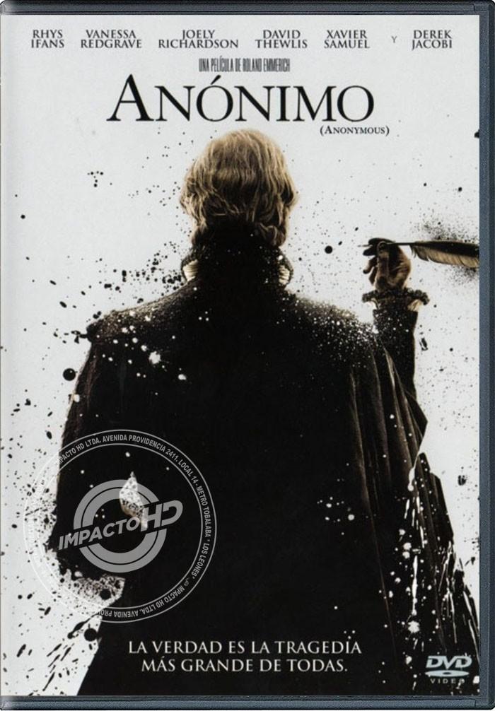 DVD - ANÓNIMO - USADA