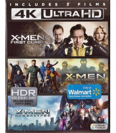 4K UHD - XMEN 3-FILM COLLECTION
