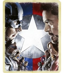 4K UHD - CAPITÁN AMÉRICA (GUERRA CIVIL) (EDICIÓN EXCLUSIVA STEELBOOK BEST BUY) (MCU)