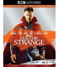 4K UHD - DOCTOR STRANGE (EDICIÓN UNIVERSO CINEMATOGRÁFICO) (MCU) - PRE VENTA
