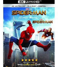 4K UHD - SPIDERMAN (DE REGRESO A CASA) (MCU)