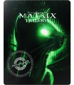 4K UHD - MATRIX (TRILOGÍA) (EDICIÓN ESPECIAL STEELBOOK) - CAJA DAÑADA