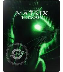 4K UHD - MATRIX (TRILOGÍA) (EDICIÓN ESPECIAL STEELBOOK)