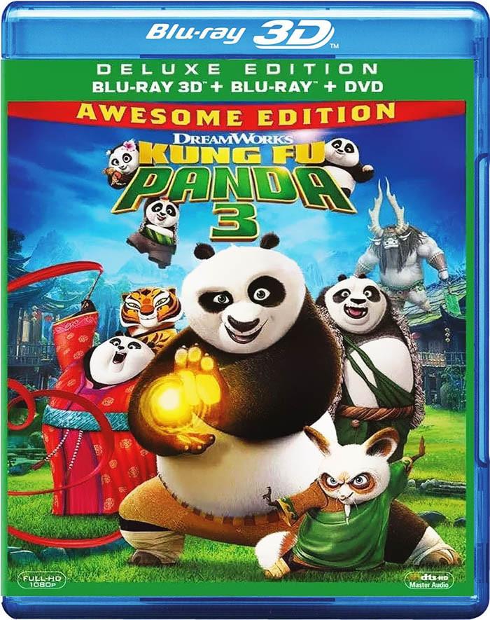 3D - KUNG FU PANDA 3 (EDICIÓN INCREÍBLE)
