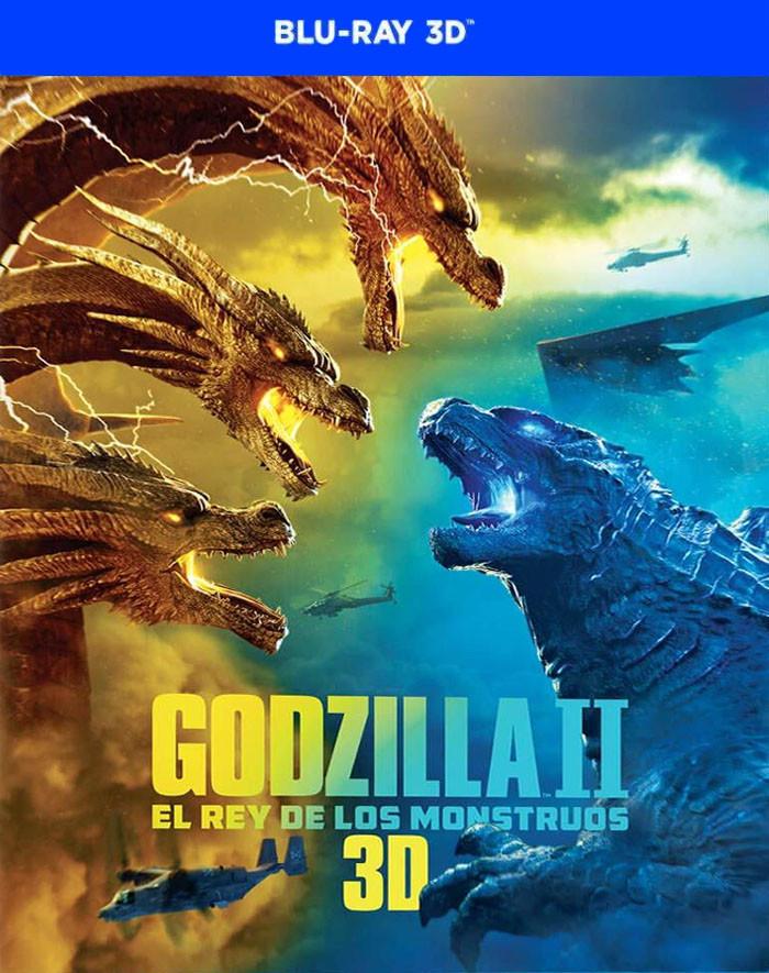3D - GODZILLA II (REY DE LOS MONSTRUOS) (*)