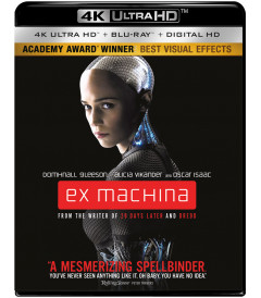 4K UHD - EX MACHINA (INSTINTO ARTIFICIAL) - USADA