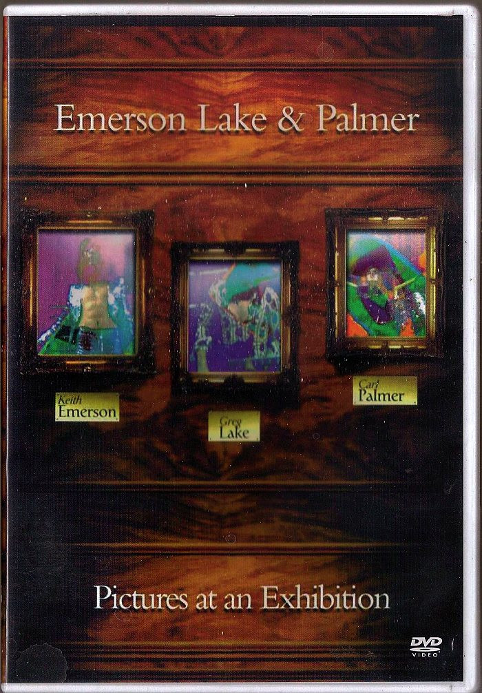 DVD - EMERSON LAKE & PALMER (PICTURES AT AN EXHIBITION) - USADA