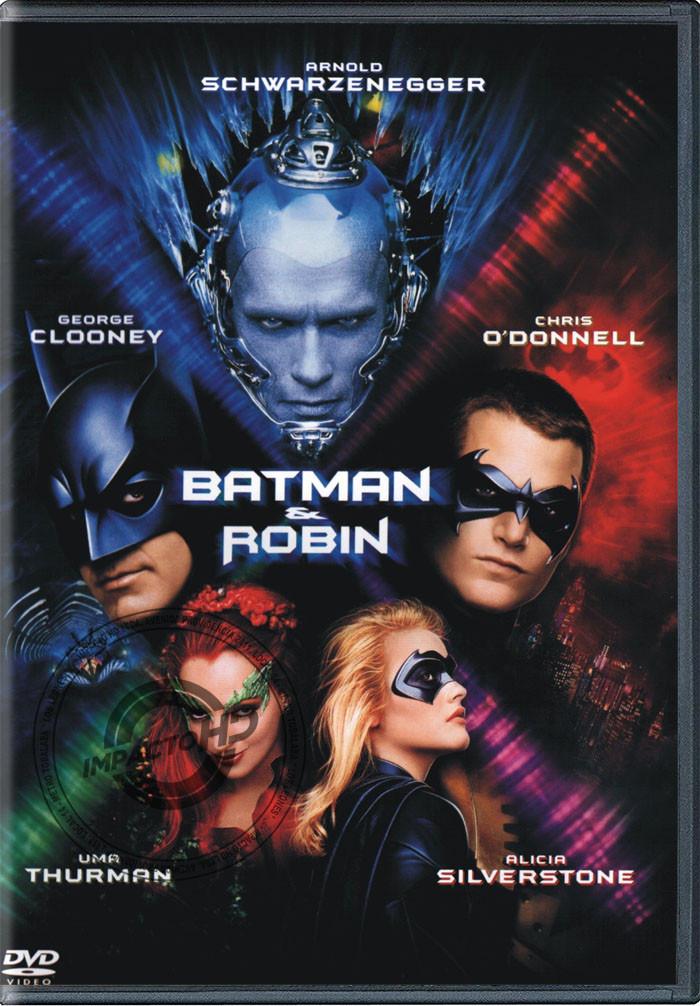 DVD - BATMAN Y ROBIN - USADA