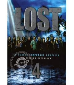 DVD - LOST (4° TEMPORADA) (EDICIÓN EXTENDIDA) - USADA