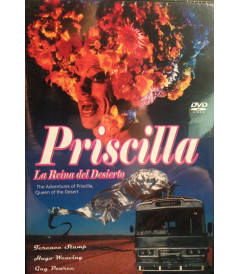 DVD - PRISCILLA LA REINA DEL DESIERTO - USADA