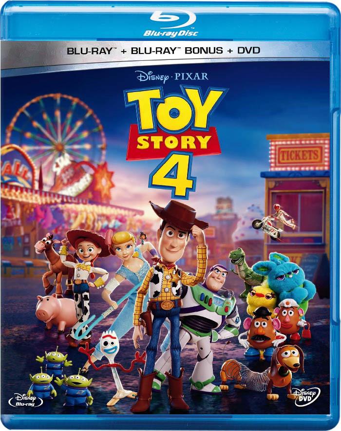TOY STORY 4 (BD + BONUS + DVD) (*)