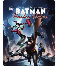 BATMAN & HARLEY QUINN (EDICIÓN ESPECIAL STEELBOOK) - USADA
