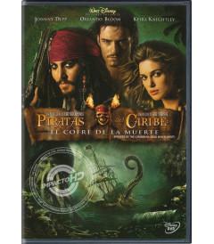 DVD - PIRATAS DEL CARIBE (EL COFRE DE LA MUERTE) - USADA