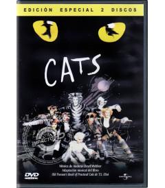 DVD - CATS (EDICIÓN ESPECIAL 2 DISCOS) - USADA