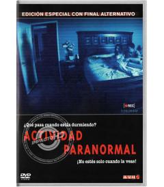 DVD - ACTIVIDAD PARANORMAL (EDICIÓN ESPECIAL CON FINAL ALTERNATIVO)