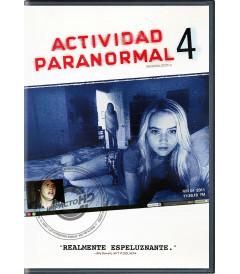 DVD - ACTIVIDAD PARANORMAL 4