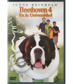 DVD - BEETHOVEN 4 (EN LA UNIVERSIDAD)