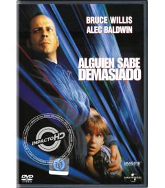 DVD - ALGUIEN SABE DEMASIADO