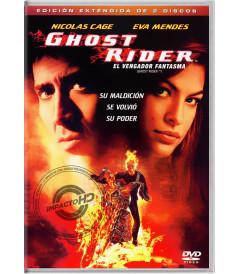 DVD - GHOST RIDER (EL VENGADOR FANTASMA) (EDICIÓN EXTENDIDA DE 2 DISCOS)