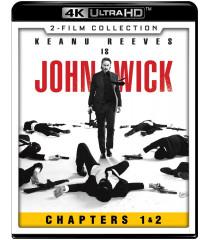 4K UHD - JOHN WICK 1 & 2 (2 FILM COLLECTION)