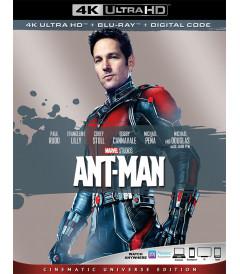 4K UHD - ANT MAN (EL HOMBRE HORMIGA) (EDICIÓN UNIVERSO CINEMATOGRÁFICO) (MCU) - USADA