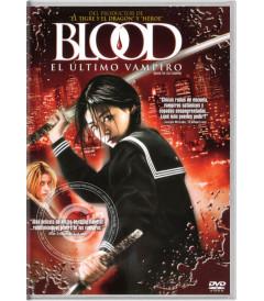 DVD - BLOOD (EL ÚLTIMO VAMPIRO)