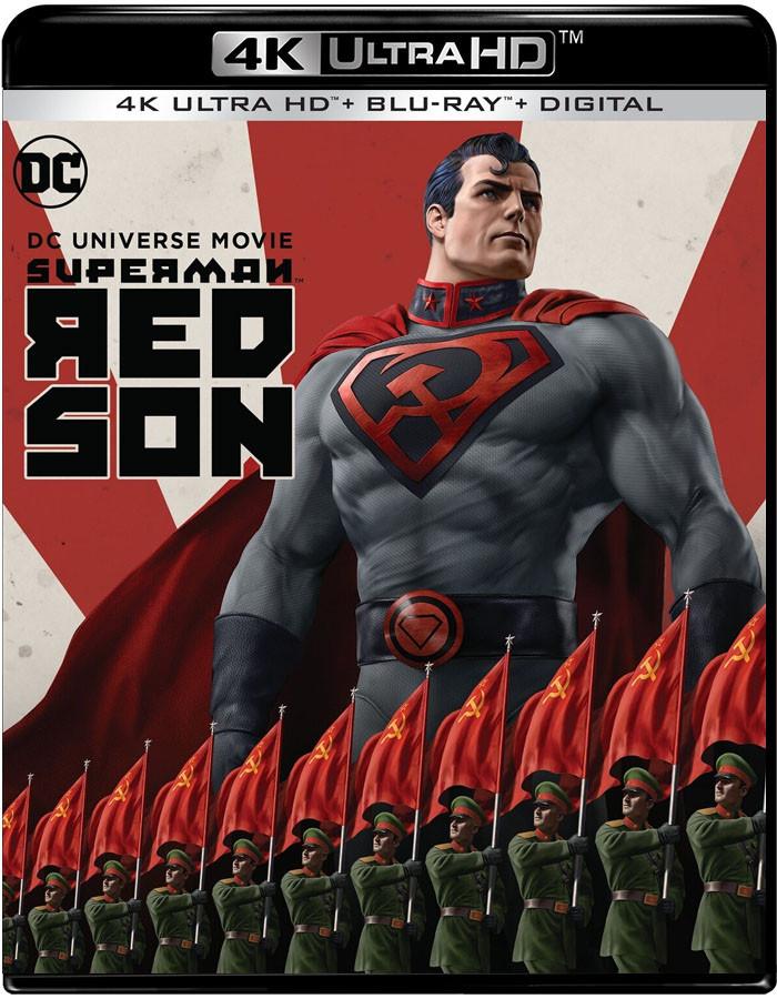 4K UHD - SUPERMAN (HIJO ROJO) - PRE VENTA