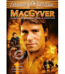 DVD - MACGYVER (1° TEMPORADA COMPLETA)