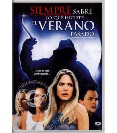 DVD - SIEMPRE SABRÉ LO QUE HICIERON EL VERANO PASADO