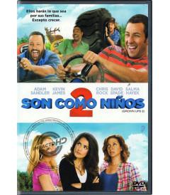 DVD - SON COMO NIÑOS 2