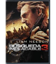 DVD - BÚSQUEDA IMPLACABLE 3
