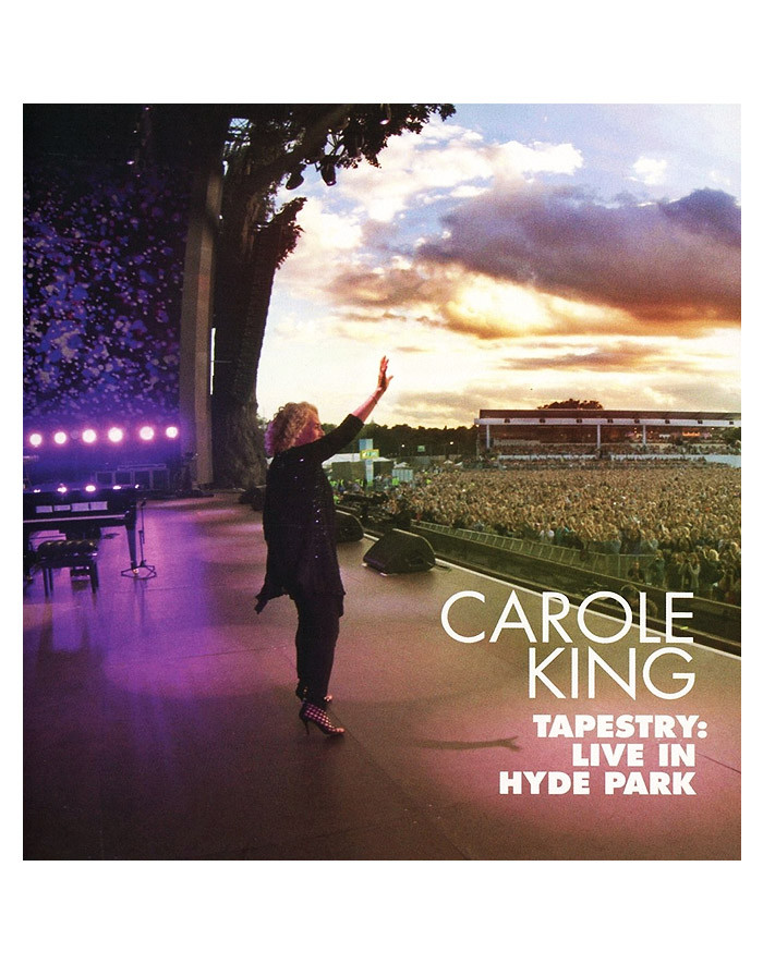 CAROLE KING (TAPESTRY: LIVE IN HYDE PARK) (BD + CD)