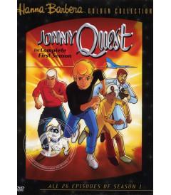 DVD - JONNY QUEST (1° TEMPORADA COMPLETA) - USADA